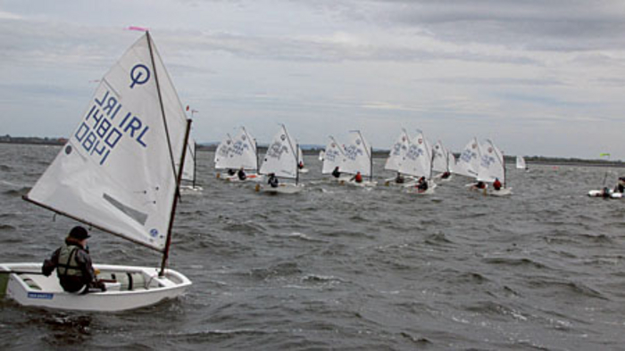 Competitors between the ages of 8 and 15 from all over Ireland battled the sea and the wind on Galway Bay last weekend for the Connacht Optimist championship sponsored by the Port of Galway and Supervalue,Oranmore.