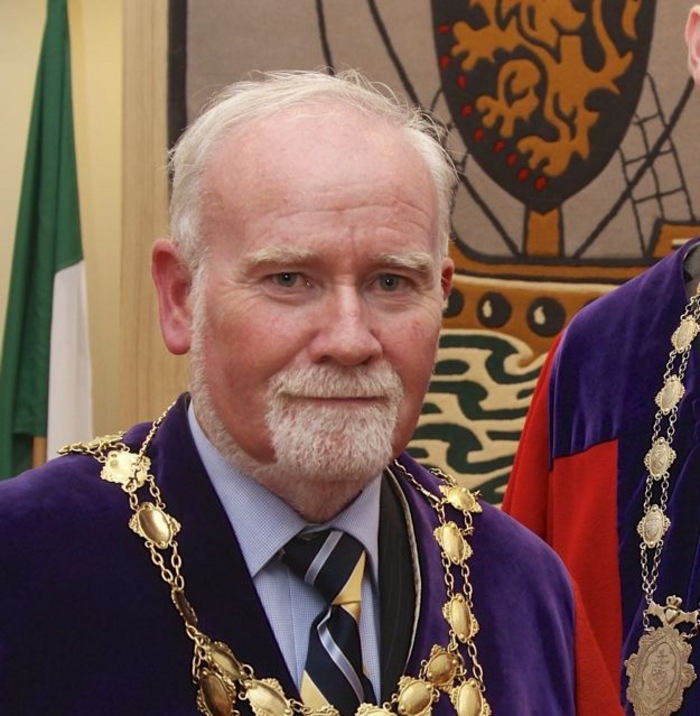 The Mayor of Galway Cllr Donal Lyons. Photo:- Mike Shaughnessy