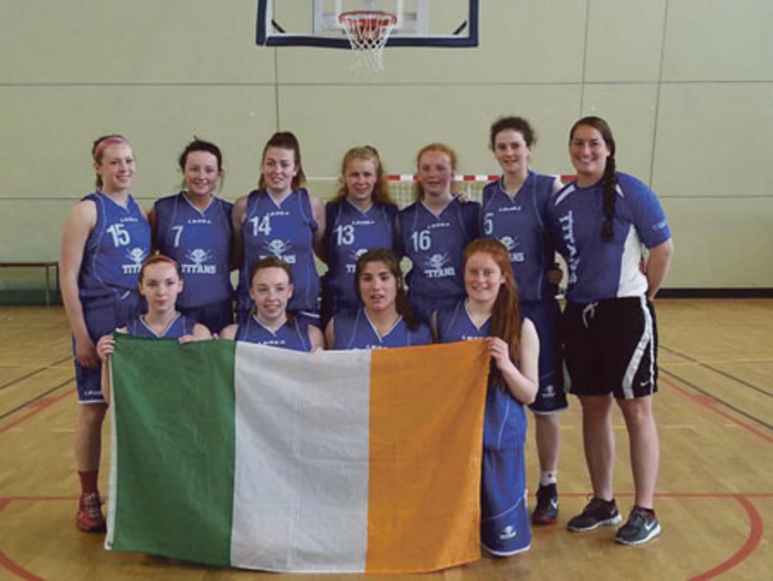 Titans fly the flag for Galway and Ireland at the Tournoi Antton Pebbet in France.
