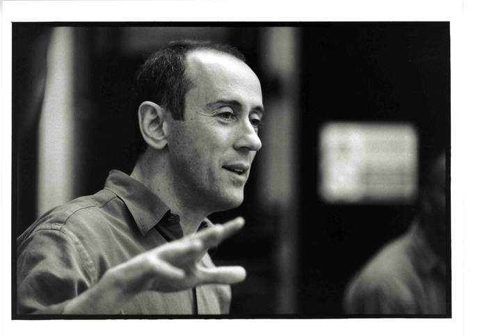 Nicholas Hytner in rehearsal. Photo:- Ivan Kyncl