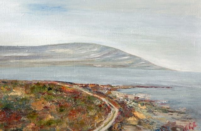The Flaggy Shore, New Quay, Co Clare by Margaret Clayton.