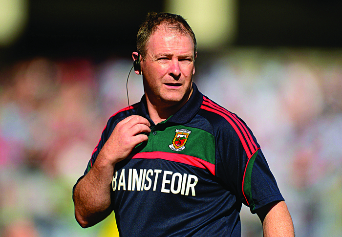 Back on the road: Mayo minor manager Enda Gilvarry is looking to get his latest crop of young stars over their first hurdle in Tuam tomorrow. Photo: Sportsfile.