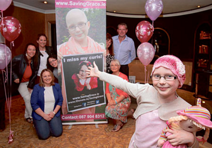 Nine-years-old Grace Kenneally remains positive, despite her continued fight against an aggressive children's cancer. A new fundraising initiative has been launched to allow Grace overseas treatment.