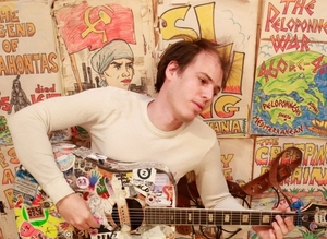 Jeffrey Lewis. Photo:- Kelley Clayton.