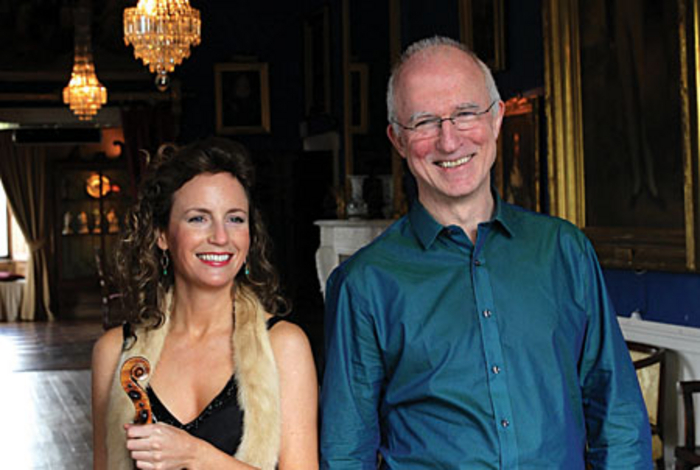Catherine Leonard and Hugh Tinney, artistic directors of the Westport Festival of Chamber Music.
