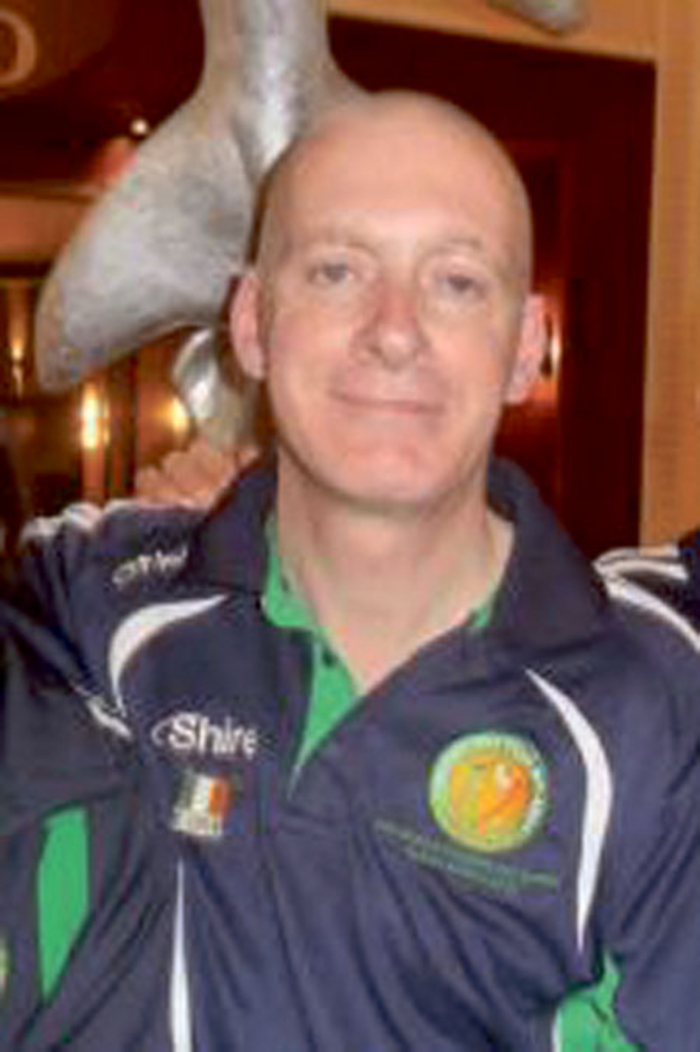 John Connell, from Mullingar, who will be representing Ireland at the Eighth European Transplant and Dialysis Games in Krakow, Poland this month.