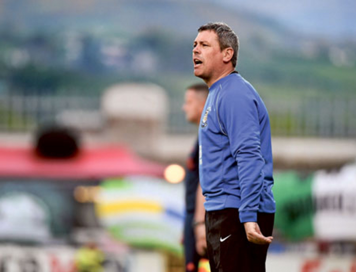 Athlone Town manager Keith Long is adamant that Athlone can climb off the bottom of the table. Photo: Sportsfile