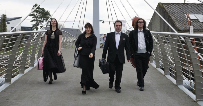 The ConTempo Quartet wil get Galway city's Culture Night off to a musical start with a free concert in NUIG at 4.30pm.