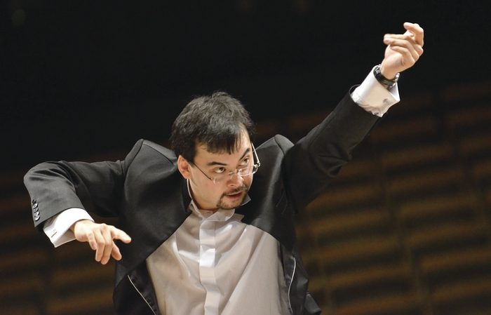 Conductor Alan Buribayev.