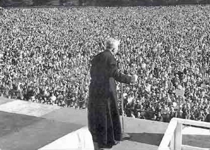 Fr Peyton, the Rosary Priest, preached to millions worldwide.