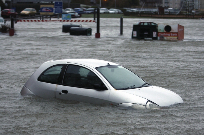 The flooding in Galway earlier this year. Photo:- Hany Marzouk