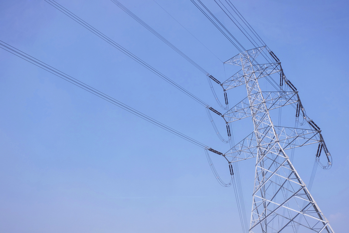 File Photograph of Pylons