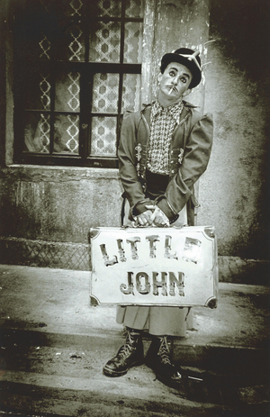 Little John Nee by Brendan Lawlor, Quay Street, 1989.