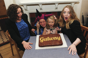 Pictured launching Galway Restaurant Week, which runs from November 3 to 9: Heather Flaherty, Jonathan Gunning, Aoife Qualter, and Rosa Butler.