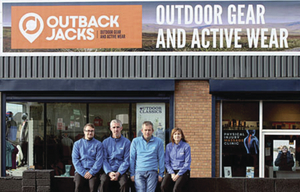 The team at Outback Jacks