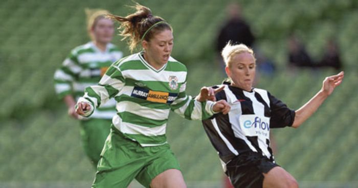 Big win needed: Castlebar Celtic's Emma Hansberry will be hoping her team can pick up a first league win  of the season on Sunday against Galway WFC