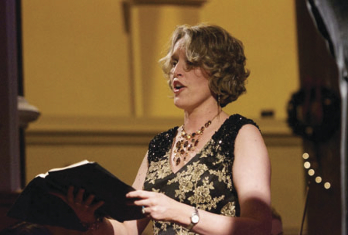 Louisburgh's renowned mezzo soprano, Anne Marie Gibbons, is back on board for this year's Messiah performance. Photo: Alison Laredo.