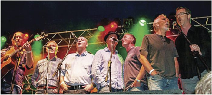MAGNIFICENT SEVEN: Mayo group Coda are performing in Castlebar next Thursday.