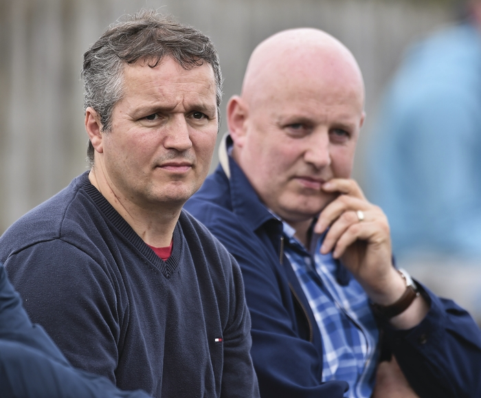 Ready to deliver: Noel Connelly and Pat Holmes are ready to embark on a new journey. Photo: Sportsfile