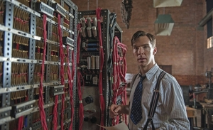 Benedict Cumberbatch as Alan Turing in The Imitation Game.