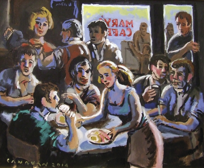 Advertiser Ie Bernard Canavan Painting A Lost Generation