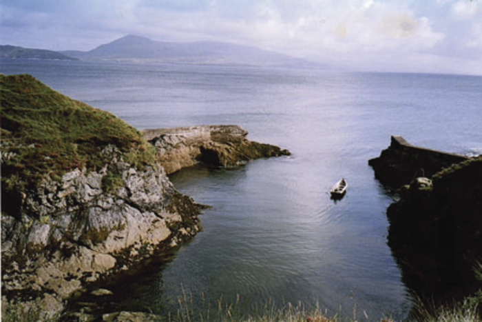 Scenic Clare Island is an important link on the Wild Atlantic Way. Photo courtesy of the Clare Island Ferry Company.