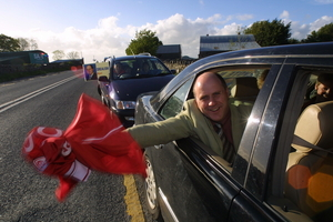 Noel Grealish following his election victory in 2007.