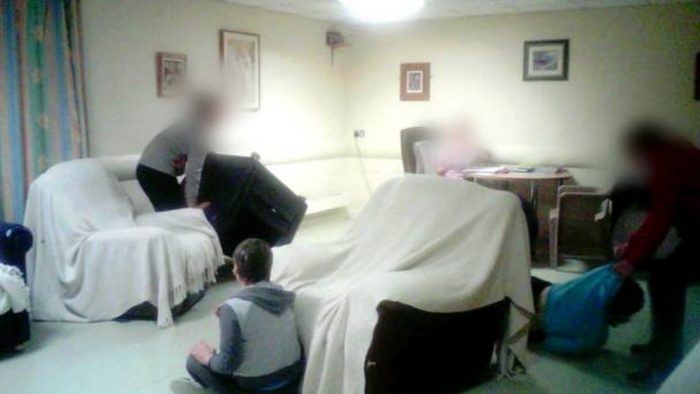 Footage from a Prime Time investigation into care standards at one particular unit at Aras Attracta in Swinford has shocked the nation. Photo: RTE.