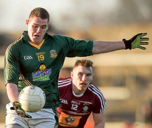 Bryan Menton, Meath, in action. Photo: Sportsfile
