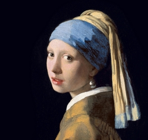 Jan Vermeer's Girl With A Pearl Earring (1665).