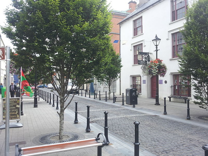 Officially clean: Pearse Street, Ballina