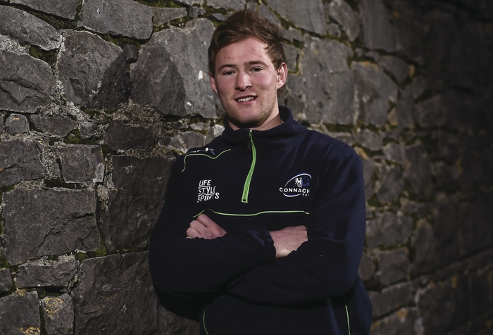 Leading from the front: Connacht scrum-half Kieran Marmion will be key to Connacht's success tonight. Photo: Sportsfile.