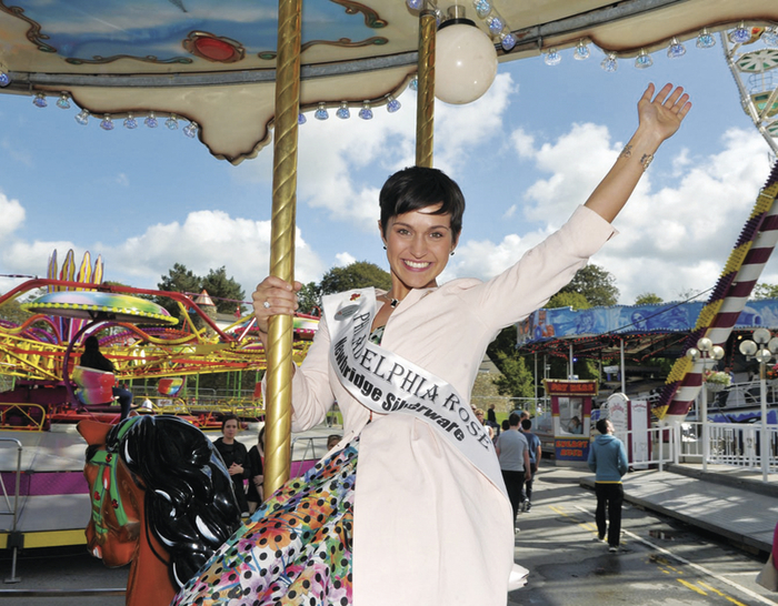 Rose of Tralee Maria Walsh from Shrule has had a busy few months.