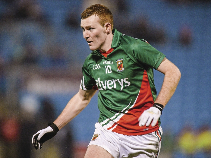 Five point display: Adam Gallagher kicked five points for Mayo against Wicklow. Photo:Sportsfile