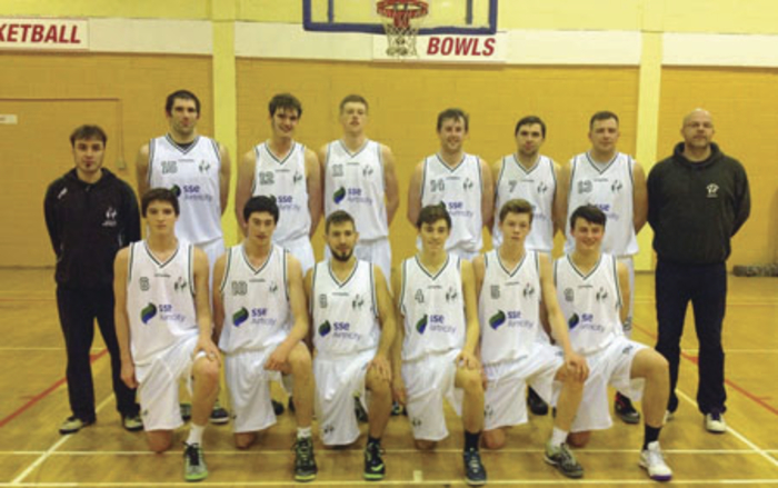 The SSE Airtricity Moycullen basketball squad which heads to Dublin for the President's Cup final on Sunday.