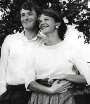 Ted Hughes and Sylvia Plath: an immediate 'extraordinary connection'.