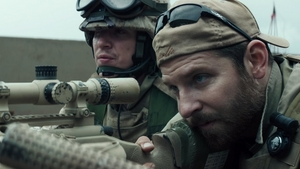Bradley Cooper as US Navy SEAL Chris Kyle in American Sniper.