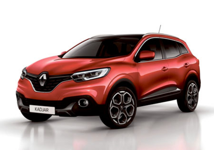 Advertiser.ie - Renault reveals Kadjar - Captur's big brother