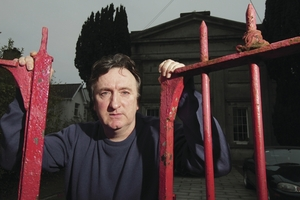 Actor Gary Lydon takes on the role of Ariel in Martin McDonagh's play The Pillowman. Photo:- Mike Shaughnessy