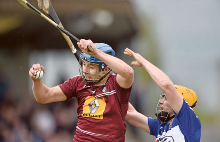 Robbie Greville scored two goals for Westmeath in Sunday's Allianz Hurling League Division 2A win over London. Photo: Sportsfile