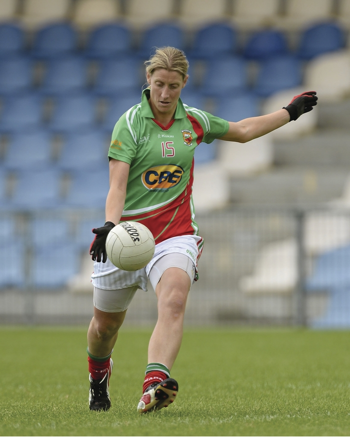 Eleven Up: Cora Staunton scored eleven points for Mayo against Dublin. Photo: Sportsfile