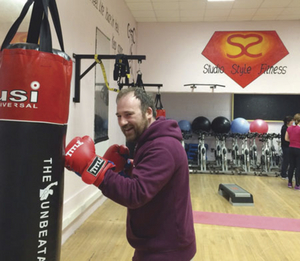 Colm Gannon gets fighting fit at Studio Style Fitness, Castlebar.