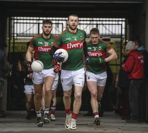 Winning ways: Keith Higgins want's to see Mayo keep collecting points. Photo:Sportsfile