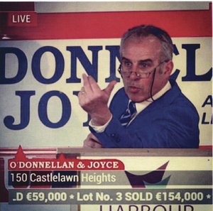 Auctioneer Colm O'Donnellan