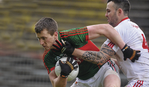 Back looking for more, Cillian O'Connor was happy with Mayo's win last Sunday but is looking for another against Derry. Photo: Sportsfile