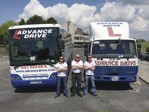 The Advance Drive School of Motoring team.