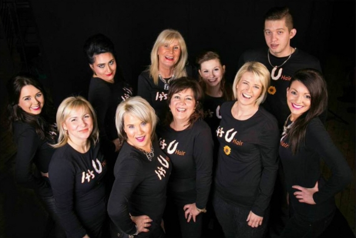 The professional team at It's U Hair, Main Street, Castlebar.