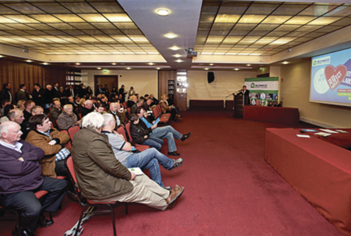 The crowd at the recent Connacht Property Auction.