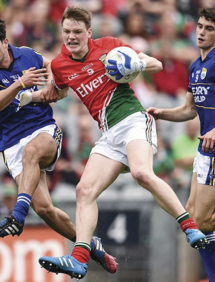 In from the start: Matthew Ruane will start for Mayo tonight. Photo:Sportsfile