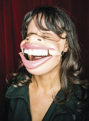 Nina Conti. Photo:- Matt Crockett